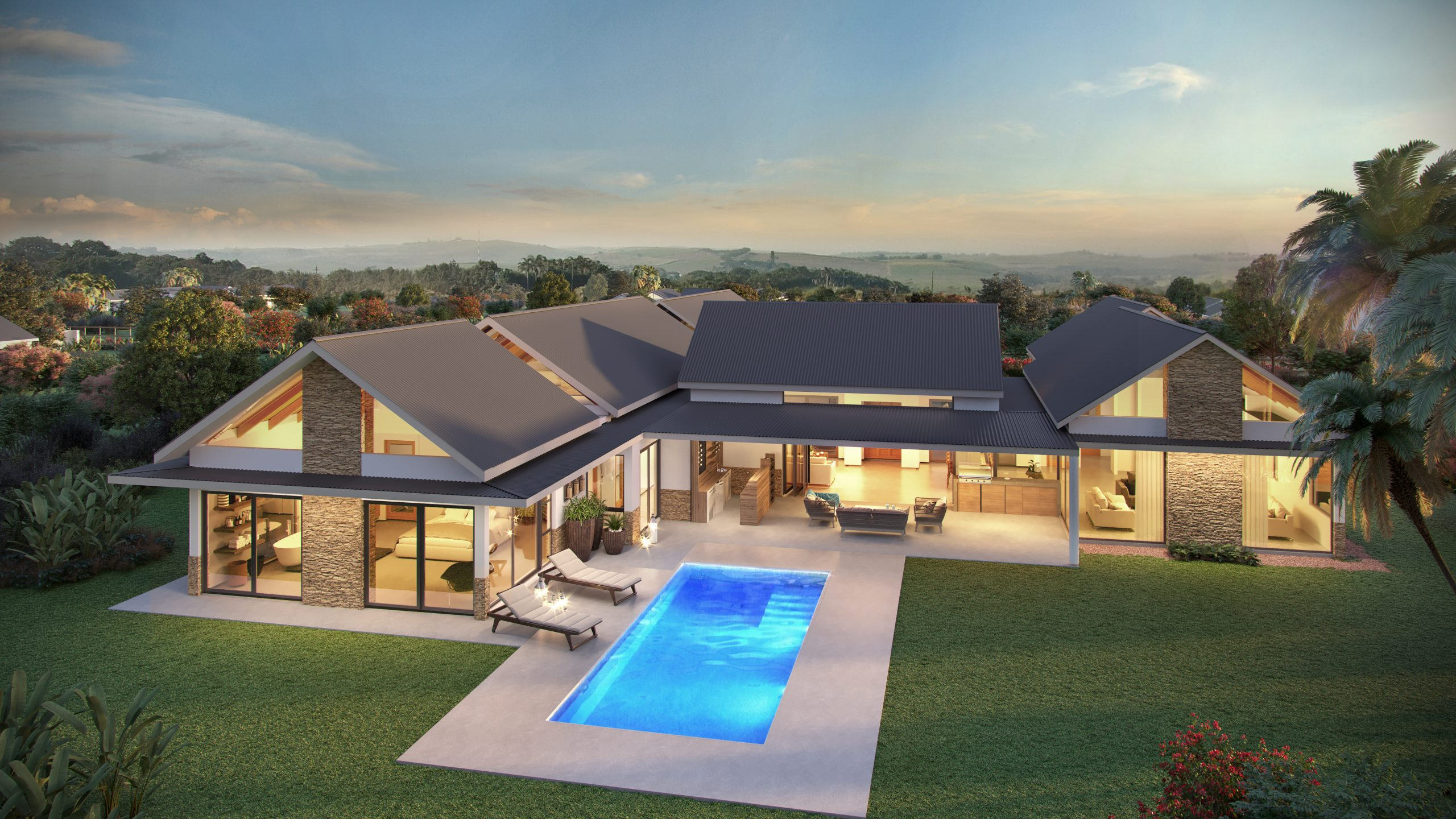 Springvale Country Estate - House Render